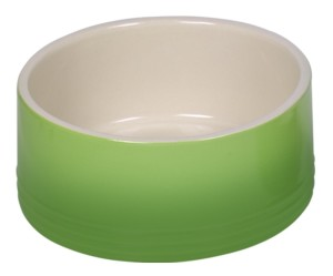 Nobby Keramik Napf Gradient grün