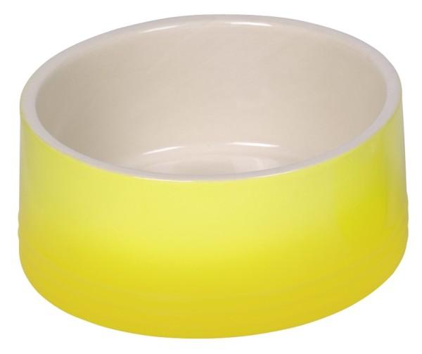 Nobby Keramik Napf Gradient gelb