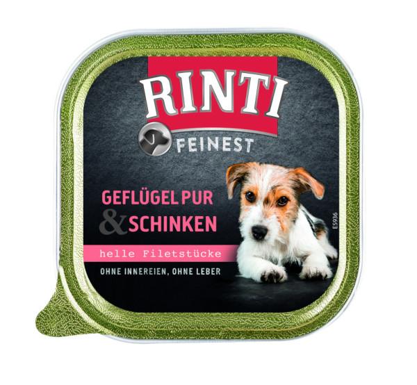Rinti Feinest Geflügel pur und Schinken 150 g