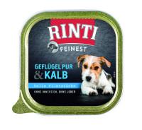 Rinti Feinest Geflügel pur und Kalb 150 g