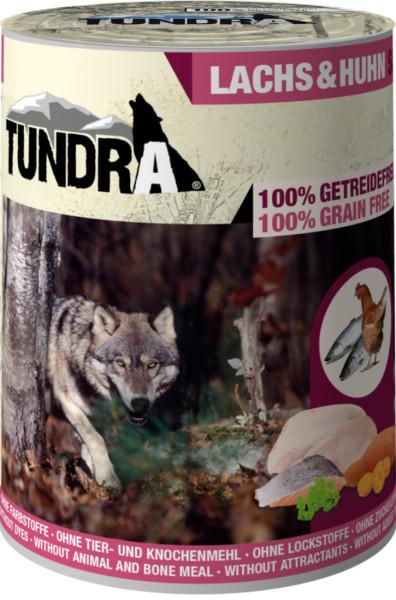 Tundra Lachs & Huhn Dose
