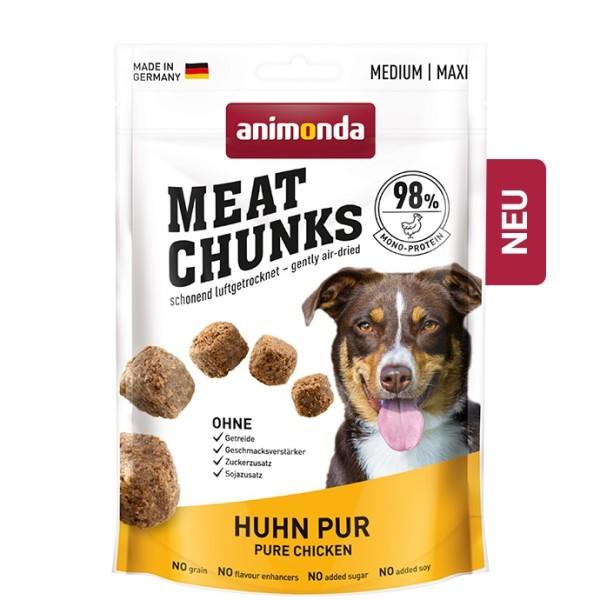Animonda Snack Meat Chunks Huhn pur 80 g