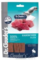 Dr Clauders Snack Kaninchen Filets 80 g