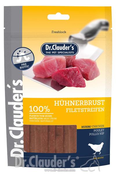 Dr Clauders Snack Hühnerbrust Filetstreifen 80g