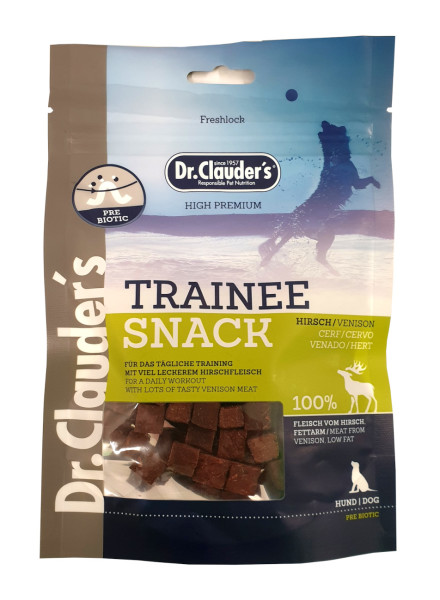 Dr Clauders Trainee Snack Hirsch 80 g