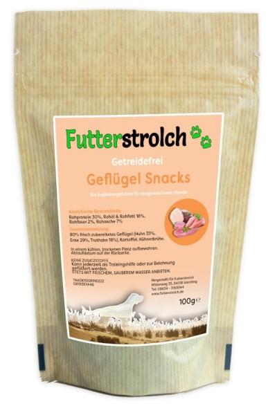 Futterstrolch Geflügel Snacks 100 g