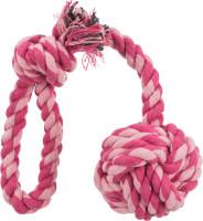 Trixie Dog Knoten Ball am Seil 7 cm / 50 cm