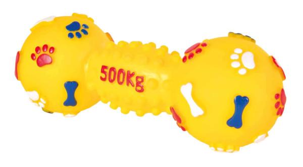 Trixie Dog Spielzeug Hantel Vinyl mittel