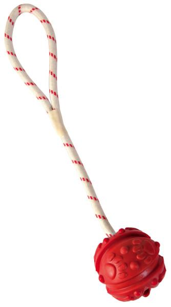 Trixie Dog Spielzeug Ball am Seil