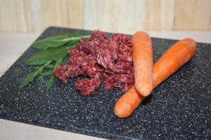 Futterstrolch Rind Komplettmenü 1 kg