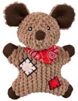 Trixie Dog Spielzeug Maus mit Flicken 19 cm