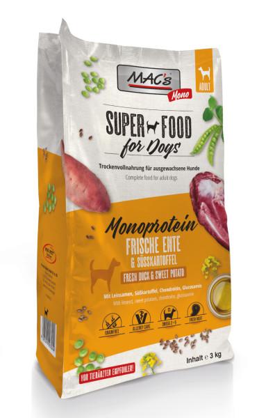 Macs Dog Superfood Mono Ente