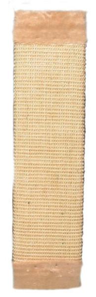 Trixie Kratzbrett mit Plüsch beige