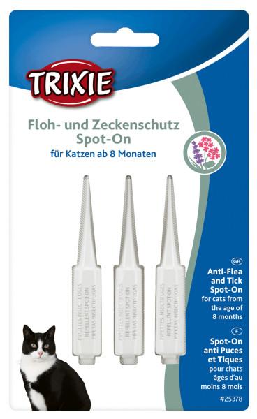 Trixie Cat Floh- und Zeckenschutz Spot on 3 x 1 ml