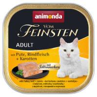 Animonda vom Feinsten Schlemmerkern Pute + Rindfleisch + Karotten 100g