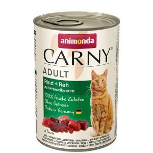 Animonda Carny Adult Rind + Reh 400 g
