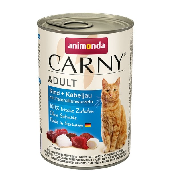 Animonda Carny Adult Rind + Kabeljau 400 g