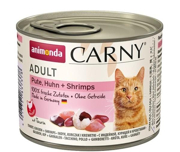 Animonda Carny Adult Pute, Huhn + Shrimps