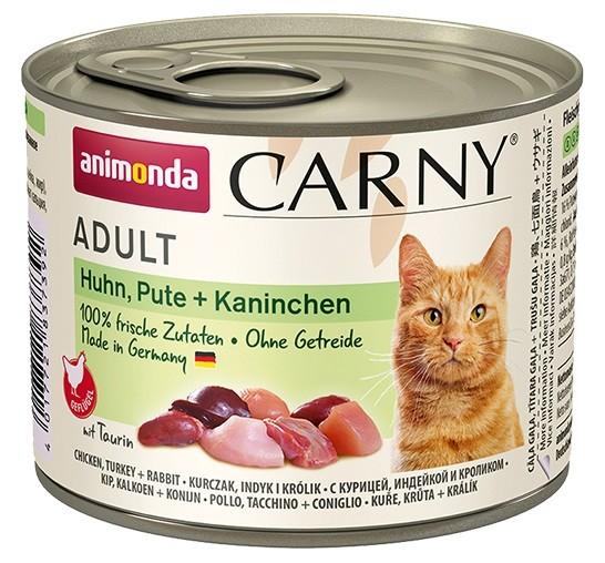 Animonda Carny Adult Huhn, Pute + Kaninchen