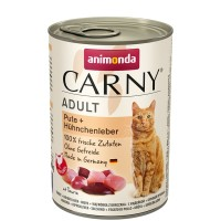 Animonda Carny Adult Pute + Hühnchenleber 400 g