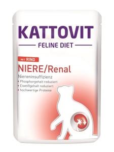 Kattovit Niere / Renal  mit Rind 85g
