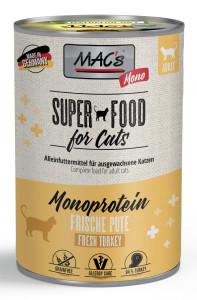 Macs Cat Vetcare Mono sensitive Pute 400 g
