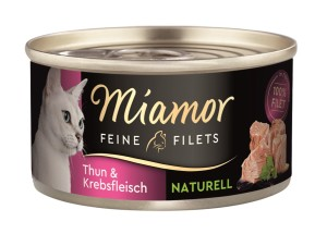 Miamor Feine Filets Thun & Krebsfleisch 80 g