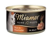 Miamor Feine Filets Thun & Wachtelei 100 g
