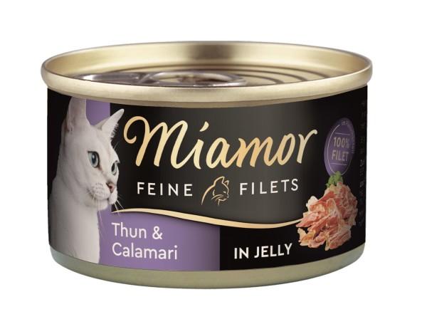 Miamor Dose Feine Filets Thunfisch & Calamari 100g