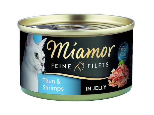 Miamor Feine Filets Thun & Shrimps 100 g