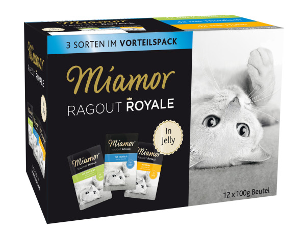 Miamor Ragout Royale Multipack Jelly 12 x 100 g