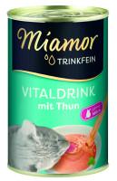 Miamor Trinkfein Vitaldrink mit Thun 135 ml