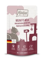 Mjamjam Herzhaftes Wild, Kaninchen + Heidelbeeren 125 g