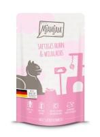 Mjamjam Saftiges Huhn + Wildlachs 125 g