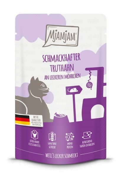 Mjamjam schmackhafter Truthahn an Möhrchen 125 g