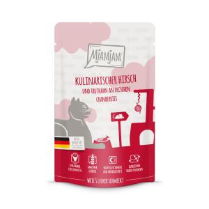 Mjamjam Kulinarischer Hirsch + Truthahn 125 g