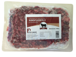Pfaffinger Rindfleisch Sorte II 1kg