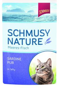Schmusy Nature Meeres Fisch Sardine pur 100 g