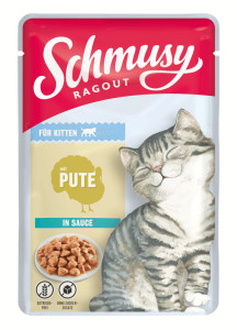 Schmusy Ragout Kitten mit Pute in Sauce 100 g