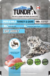 Tundra Cat PB Pute + Wild 85 g