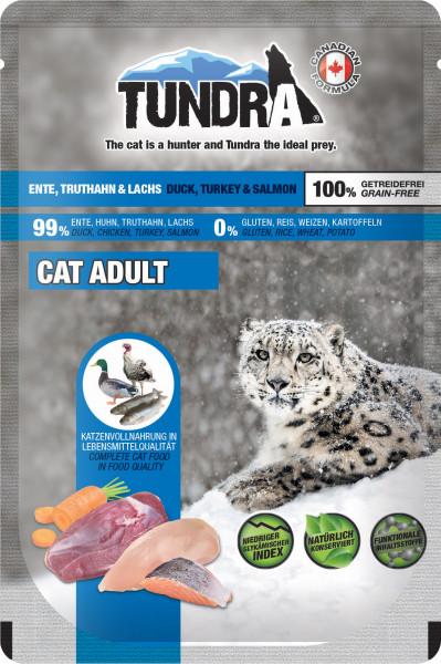 Tundra Cat PB Ente, Truthahn + Lachs 85 g