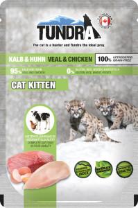 Tundra Cat PB Kitten Kalb und Huhn 85 g