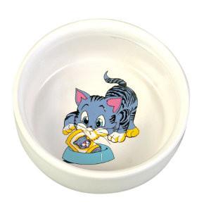 Trixie Katzen Keramiknapf mit Motiv