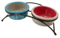 Trixie Katzen Keramik Napf Set Eat on Feet