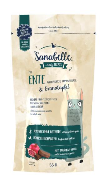 Sanabelle mit Ente & Granatapfel 55 g