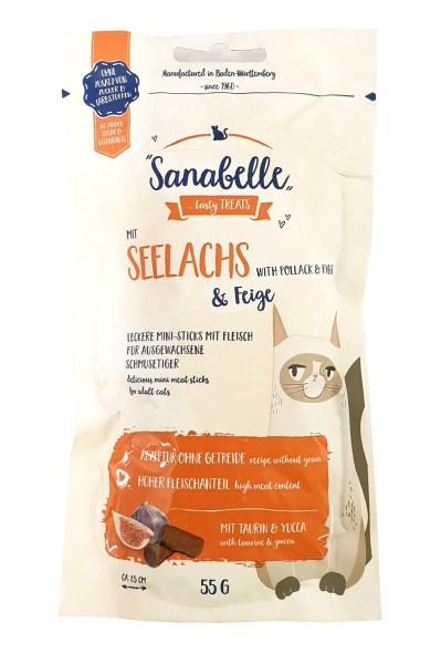 Sanabelle mit Seelachs & Feige 55 g