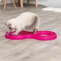 Trixie Cat Flashing Ball Race
