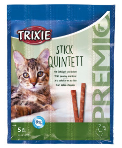 Trixie Stick Quintett mit Geflügel und Leber 5 x 5g