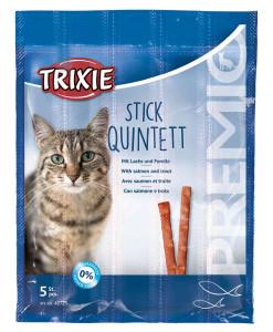Trixie Stick Quintett mit Lachs und Forelle 5 x 5 g