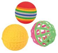 Trixie Katzen Spielzeug Spielbälle Set